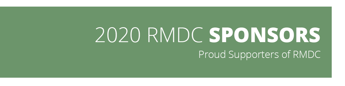2020 RMDC Sponsors Proud Supporters of RMDC