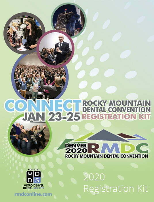 Rocky Mountain Dental Convention (RMDC) Education Program Coming Soon