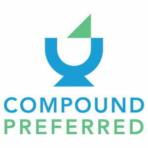 Compound preferred logo