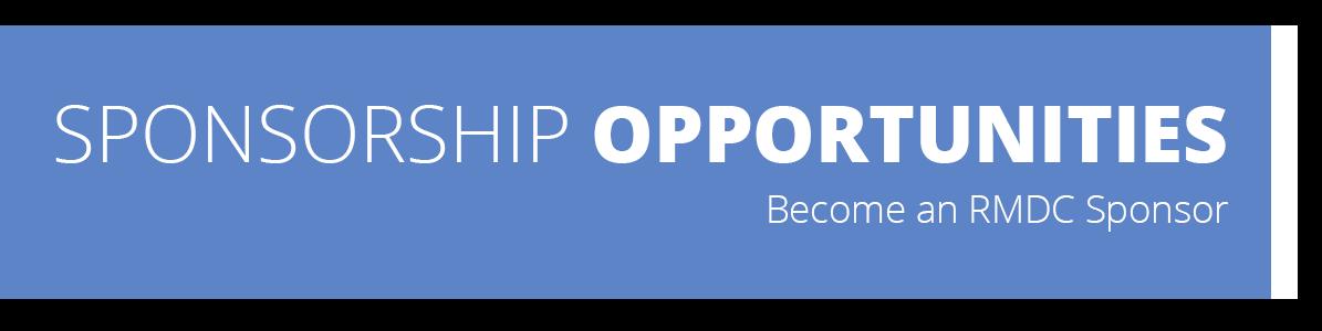 Sponsorship Opportunities - Become an RMDC Sponsor