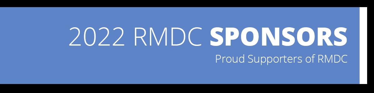 2022 RMDC Sponsors